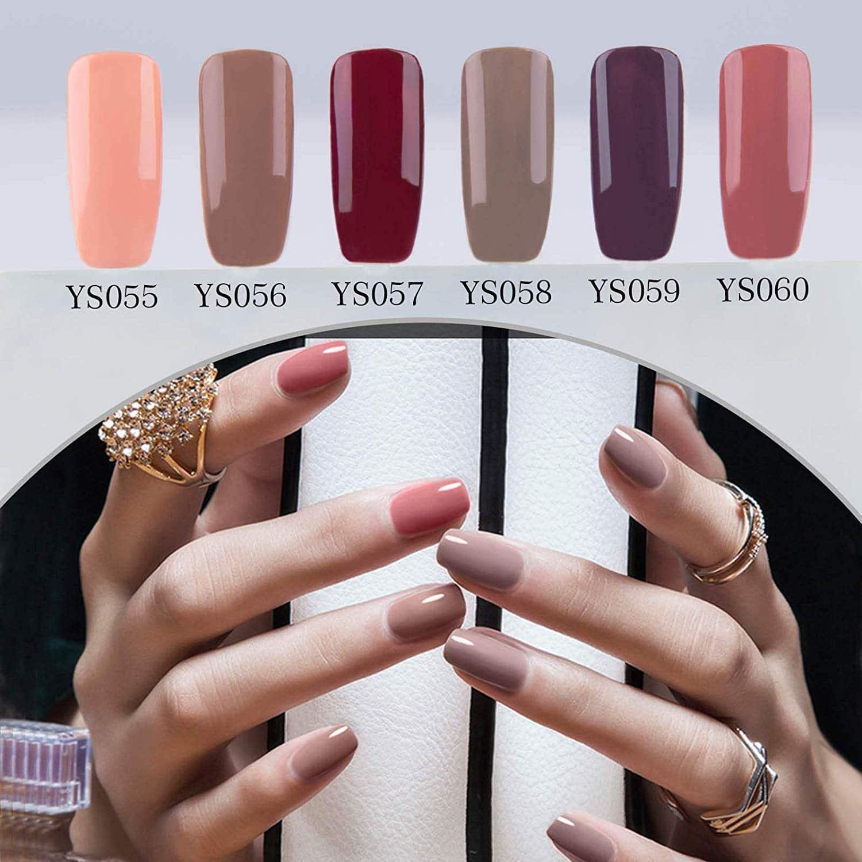 Y&S 8 couleurs - vernis semi-permanent