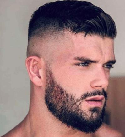 Couper les cheveux d'un homme dégradé