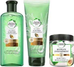 gamme herbal essence hydratante