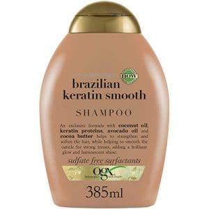 shampooing ogx brazilian keratin smooth