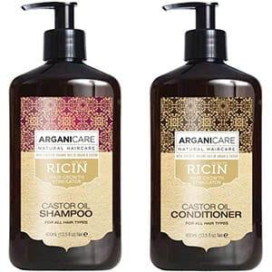 shampoing arganicare huile ricin bio